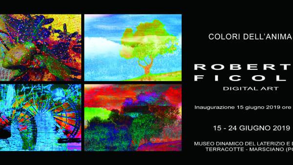"""""""Colori dell'anima"""", al Museo del Laterizio in mostra le opere di Paolo Ficola"""