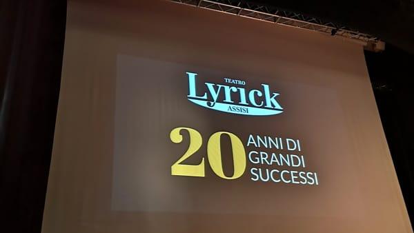 Vent'anni di Teatro Lyrick e una nuova stagione ricchissima