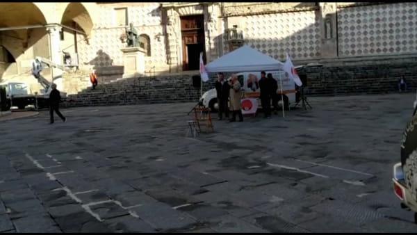 """VIDEO Regionali Umbria, Pappalardo rilancia la Lira umbra e invita gli elettori 5 stelle: """"Scegliete i movimenti popolari che nascono"""""""
