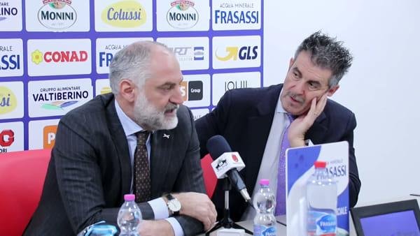 """VIDEO Ubi sponsor della Sir Volley, Fumagalli: """"Attenti a sostenere le passioni dei giovani, manager del futuro"""""""