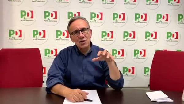 """VIDEO Elezioni regionali, il Pd lancia Fora candidato presidente e sfida Salvini: """"Non si prenderà l'Umbria"""""""