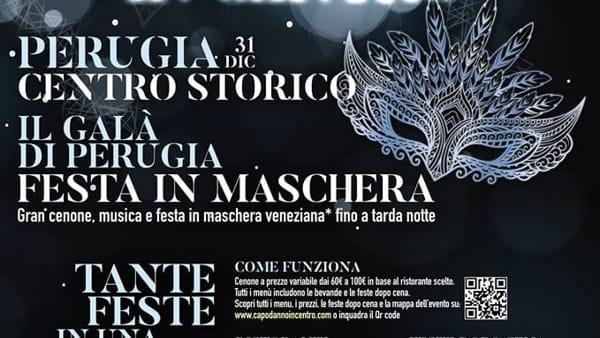 """Capodanno """"itinerante"""" in centro con il Nuovo Galà di Perugia"""