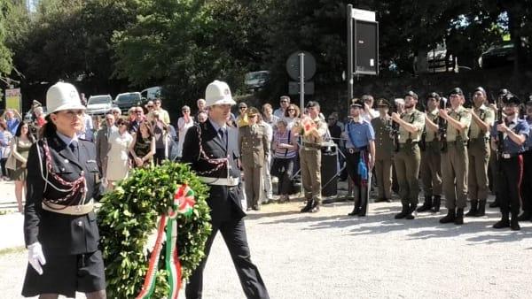 """VIDEO Perugia celebra il XX Giugno, Romizi: """"Una doppia data intorno a cui la nostra comunità si unisce"""""""