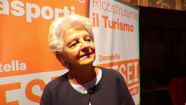 """VIDEO Elezioni regionali Umbria, Teresa Severini nella lista Tesei: """"La mia esperienza a sostegno di turismo e cultura"""""""