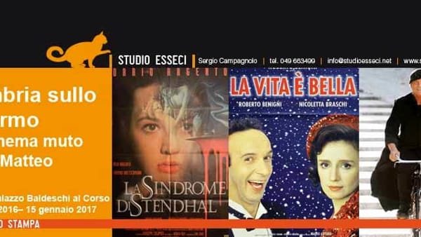 Umbria terra di film e fiction: in mostra a Perugia i set, i film ed i celebri personaggi del cinema italiano