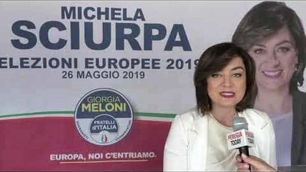 """VIDEO Elezioni europee, Michela Sciurpa: """"Il mio contributo al progetto di Fratelli d'Italia"""""""