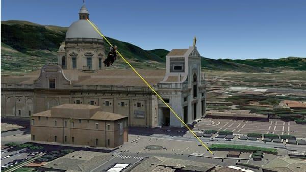 Befana da record a Santa Maria degli Angeli: la discesa dalla cupola della Basilica