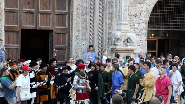 VIDEO Perugia 1416, dal corteo storico alla proclamazione del vincitore: una giornata di emozioni