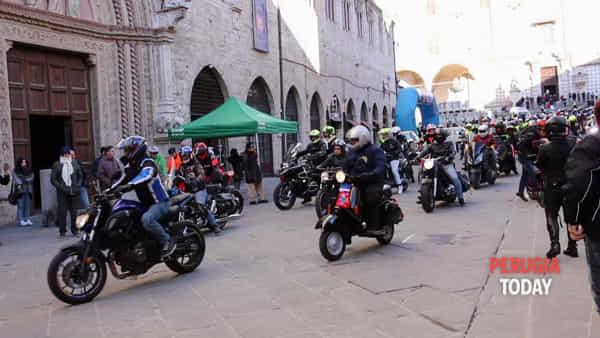 VIDEO Tutti in sella per la Motobefana, a Perugia torna l'appuntamento con gli amanti delle due ruote
