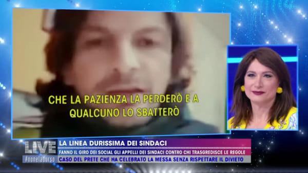 VIDEO | Coronavirus, Il sindaco di Gualdo nella hit parade di Barbara D'Urso dei primi cittadini inca**ati contro i furbetti