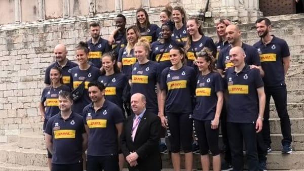 VIDEO Volley Nations League a Perugia, le azzurre in visita alla mostra di Paolo Rossi e a Palazzo dei Priori