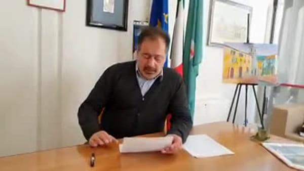 """VIDEO Coronavirus, quattro casi di contagio a Cascia. Il sindaco: """"Siate responsabili, restate a casa"""""""