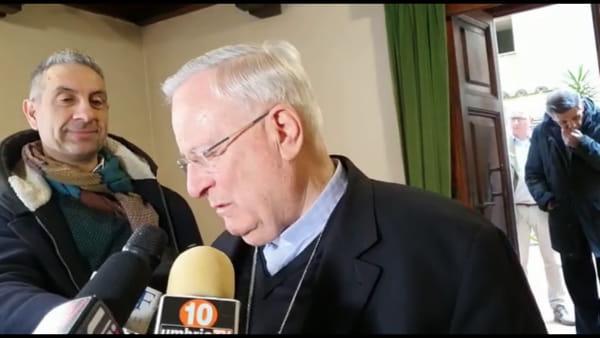 """VIDEO Ambulatorio Solidale, il cardinale Bassetti: """"Nessuno sia costretto a scegliere se mangiare o se curarsi"""""""