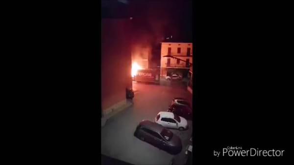 Incendio nella notte, paura a Ponte San Giovanni