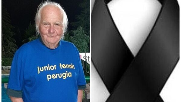 Perugia in lutto, addio a 'Poppi' Vinti: ha fatto la storia del tennis umbro