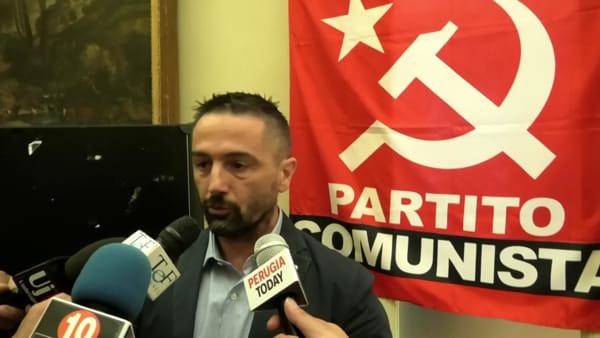 """VIDEO Elezioni regionali, Rubicondi si candida per il Partito comunista: """"Riportiamo al centro il lavoro"""""""