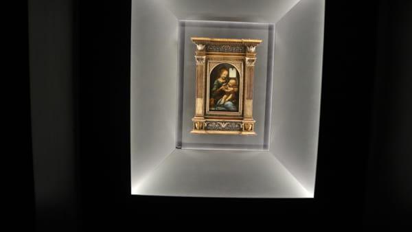 VIDEO Leonardo da Vinci ritrova Perugino, alla Galleria nazionale dell'Umbria la Madonna Benois