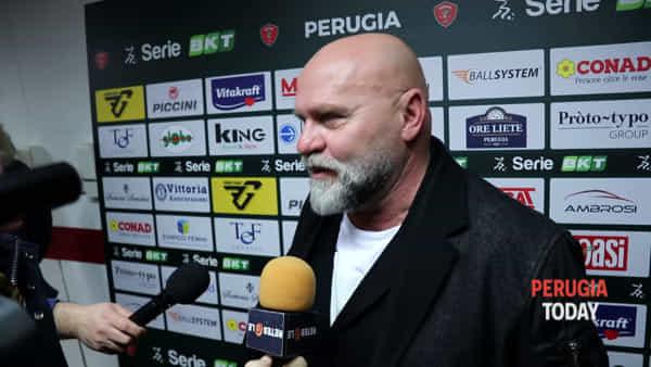"""VIDEO Cosmi nuovo allenatore del Perugia: """"Riprendo un discorso interrotto. Molte aspettative? Bene, vuol dire che c'è fiducia"""""""