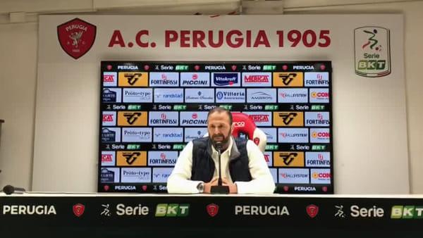 """VIDEO Perugia calcio, Santopadre: """"Il primo responsabile sono io, ci metto la faccia in un momento di difficoltà"""""""