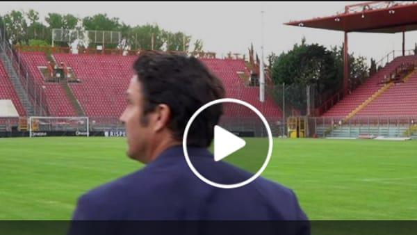 """VIDEO Oddo nuovo allenatore del Grifo: """"Perugia è una società gloriosa. Faremo grandi cose"""""""
