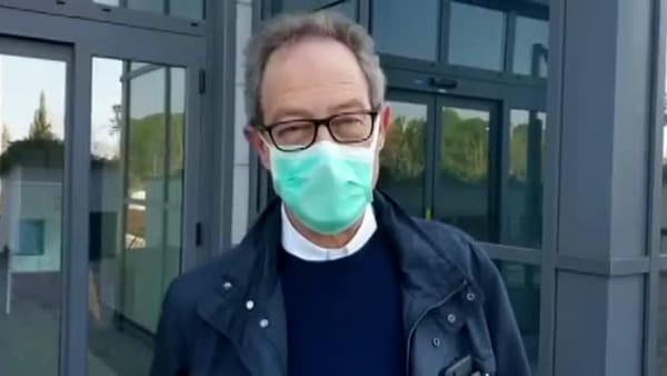 """VIDEO Coronavirus, l'ospedale ringrazia gli 'scalmanati' tifosi del Perugia: """"Siamo commossi"""""""