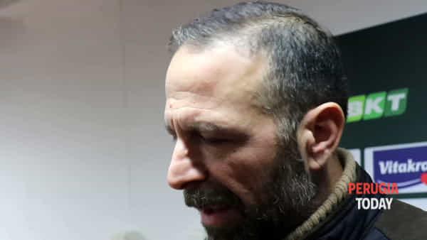 """VIDEO Cosmi nuovo allenatore del Perugia, Santopadre: """"Convinto della scelta. Mai più sconfitte al Curi"""""""
