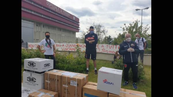 VIDEO - La donazione dei Sirmaniaci all'ospedale di Perugia