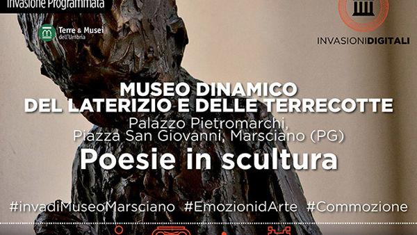 """""""Invasioni digitali"""", al Museo di Marsciano alla scoperta delle opere dello scultore Antonio Ranocchia"""
