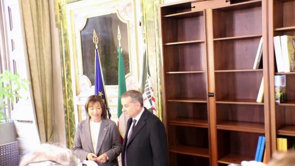 """VIDEO Regione Umbria, Paparelli: """"Alla nuova giunta auguro di produrre un nuovo ciclo di benessere"""""""