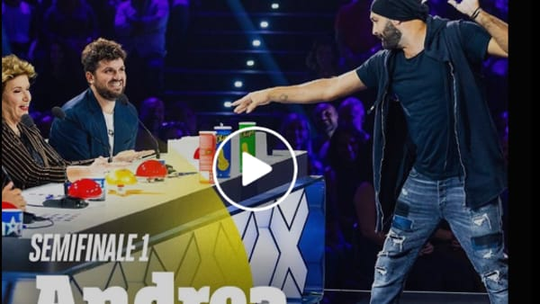 VIDEO Andrea Paris in finale a Italia's Got Talent, auguri speciali per il nostro mago