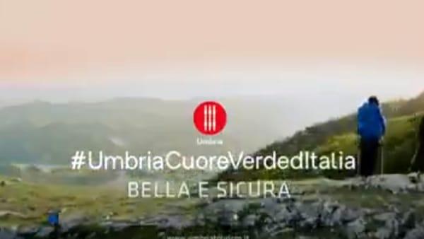 VIDEO La Regione inaugura la campagna di comunicazione: Benvenuti in Umbria cuore verde e sicuro d'Italia