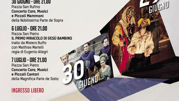 Ad Assisi il Calendimaggio Open, per vivere il Calendimaggio anche in estate