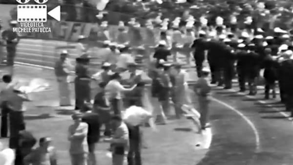 VIDEO INEDITO I festeggiamenti al Santa Giuliana per il Grifo in serie A: era il 1975. Che spettacolo!