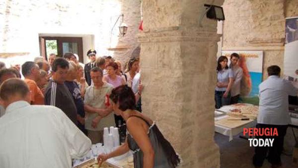 A Spello all'insegna dell'oca arrosto e del tartufo con la Sagra di Ca' Rapillo in festa