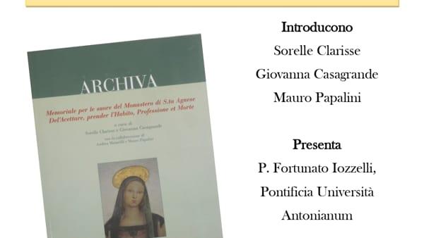 Monastero di S. Agnese, un memoriale per la città: il 30 Novembre la presentazione