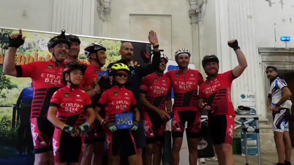 VIDEO Spoleto-Norcia in mountain bike, i numeri del successo