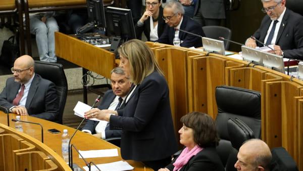 VIDEO Inchiesta sanità, Catiuscia Marini ribadisce le dimissioni