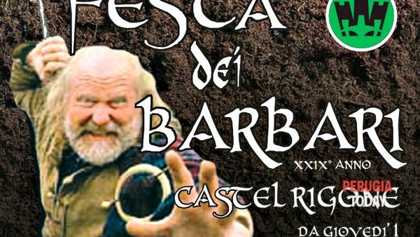 Castel Rigone, tutto pronto per la Festa dei Barbari: villaggio storico, combattimenti, assalto ai romani... e musica e street food