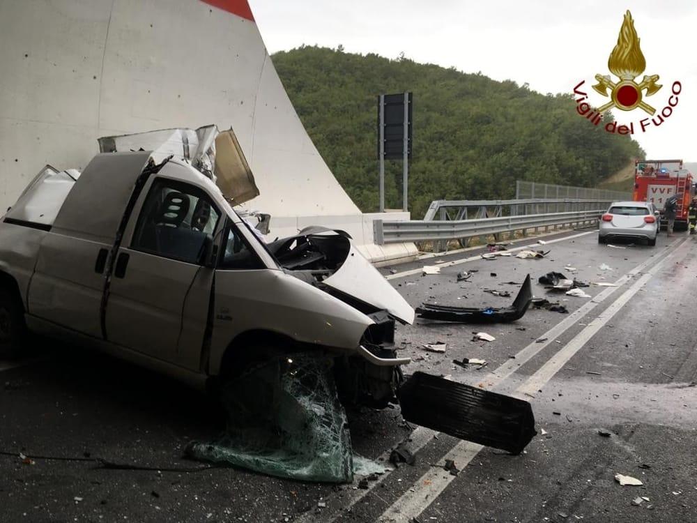 Incidente mortale Perugia-Ancona