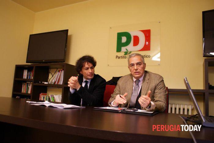 Conferenza stampa Pd primarie